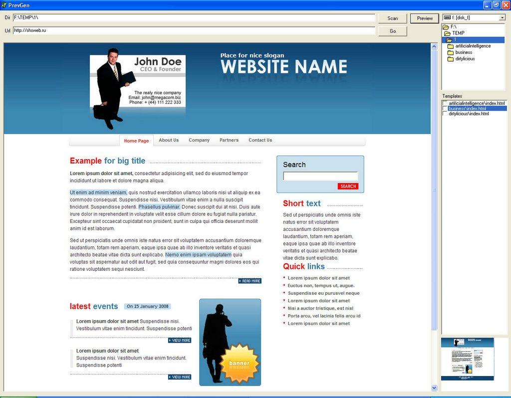 Программа для прогона сайтов по каталогам